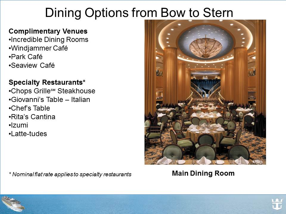 Dining options 1